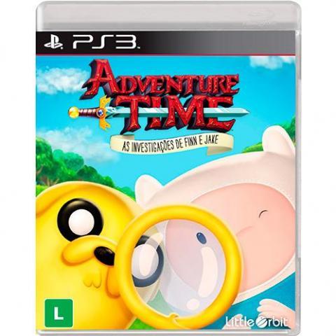 Adventure Time - As Investigações de Finn e Jake (PS3)