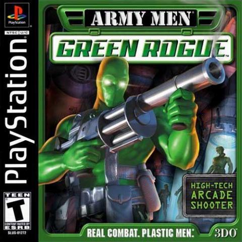 Army Men Green Rogue (PS1)