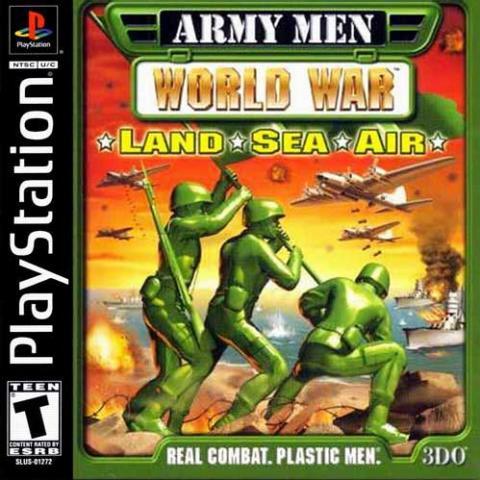 Army Men World War: Land Sea Air (PS1)