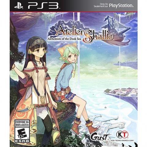 Atelier Shallie: Alchemist of the Dusk Sea (PS3)