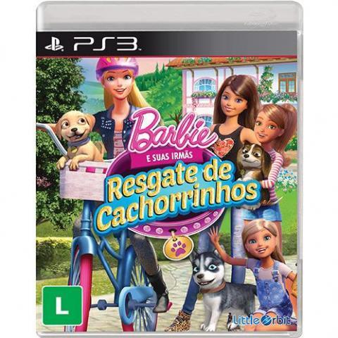 Barbie e Suas Irmãs: Resgate de Cachorrinhos (PS3)