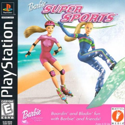 Barbie Super Sports (PS1)