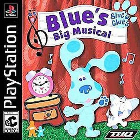 Blue's Big Musical (PS1)
