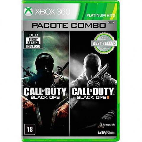 Call of Duty: Black Ops & Call of Duty: Black Ops II (XBOX360)