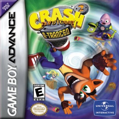 Crash Bandicoot N-tranced (GBA)