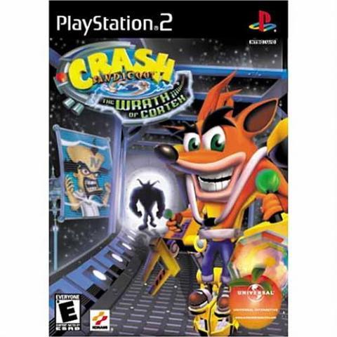 Crash Bandicoot The Wrath of Cortex (PS2)
