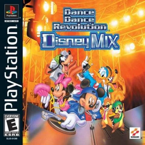 Dance Dance Revolution: Disney Mix (PS1)