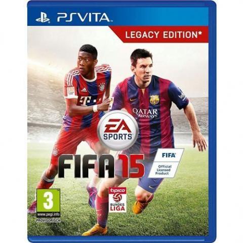 FIFA 15 Legacy Edition (PSVITA)