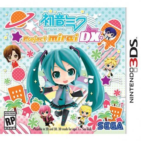Hatsune Mike - Project Mirai DX