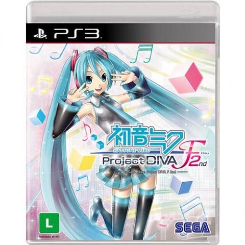 Hatsune Miku Project Diva F 2nd (PS3)
