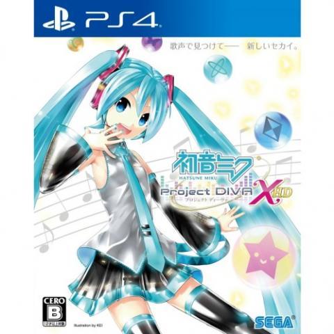 Hatsune Miku: Project DIVA X HD (PS4)