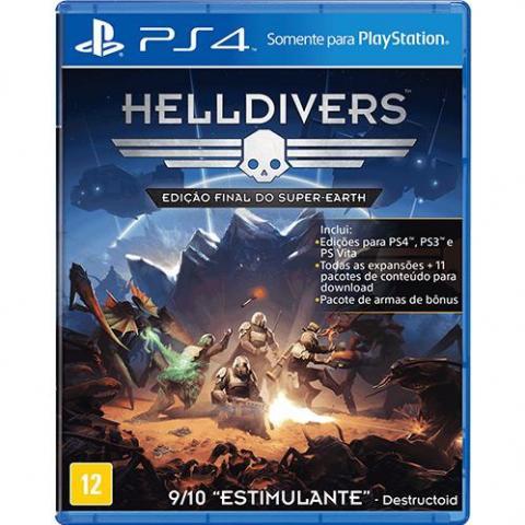 Helldivers - Edição Final do Super Earth (PS4)