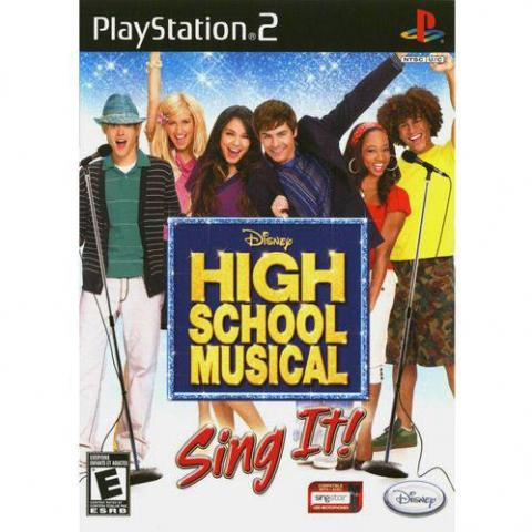 High Scholl Musical Sing it! (PS2)