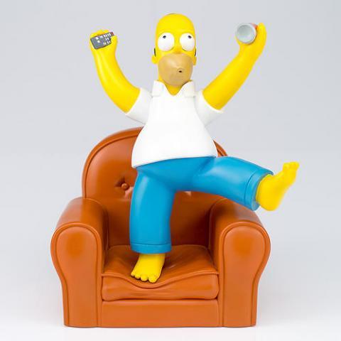 Homer Simpson no Sofá