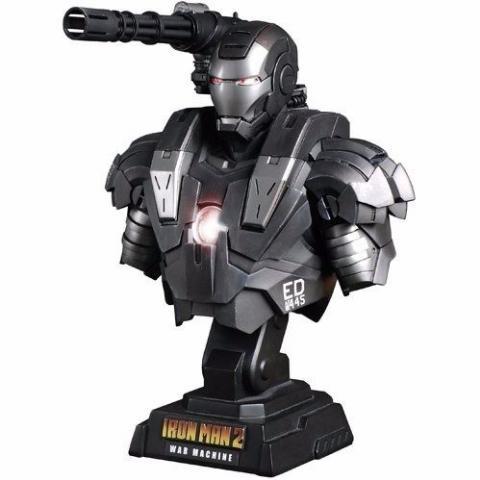Iron Man 2 - Busto War Machine Mark II 1/4