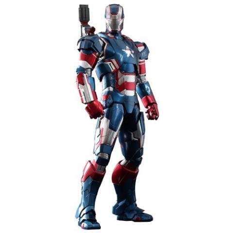 Iron Man 3 - Iron Patriot Diecast 1/6 MMS 195-D01