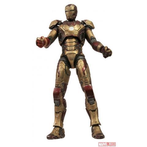 Iron Man Battle damaged Mark 42