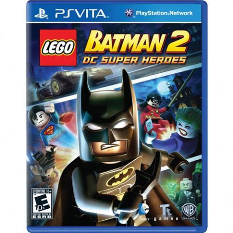 Lego Batman 2 DC Super Heroes (PSVITA)