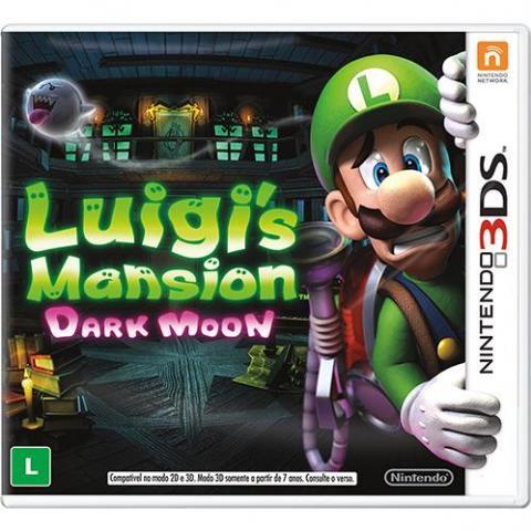 Luigi's Mansion Dark Moon (3DS)