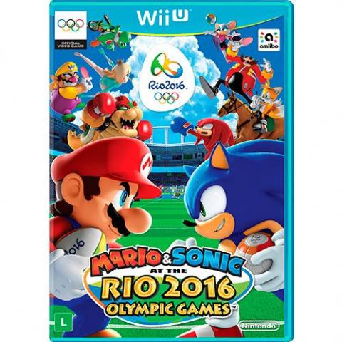 Mario & Sonic at the Rio 2016 Olympic Games (WIIU)