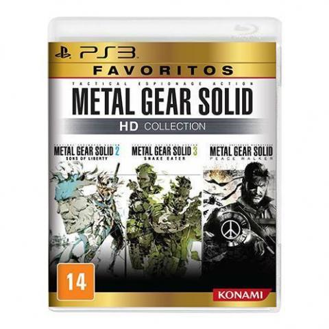 Metal Gear HD Collection (PS3)