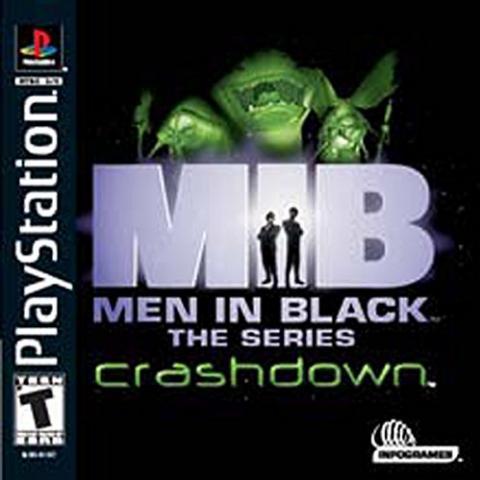 M.I.B. Men in Black Crashdown (PS1)