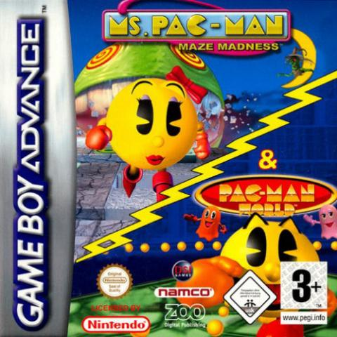 Ms. Pac-man & Pac-man World (GBA)