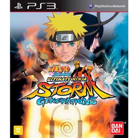 Naruto Shippuden Ultimate Ninja Storm Generations (PS3)