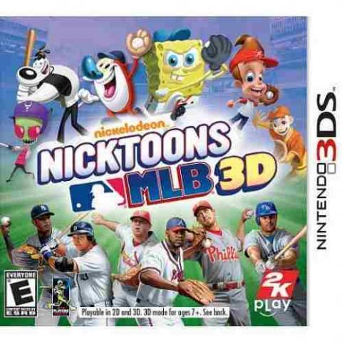 Nickelodeon Nicktoons MLB 3D