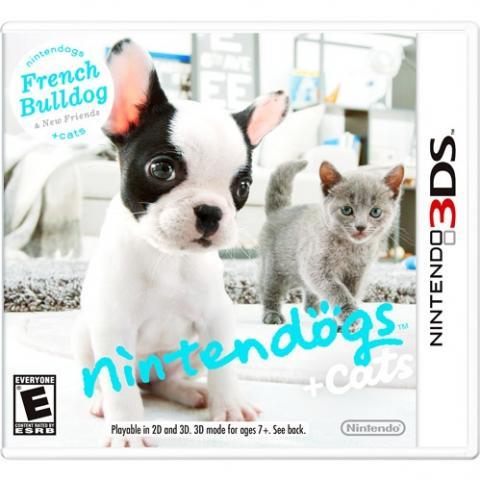 Nintendogs + Cats French Bulldog