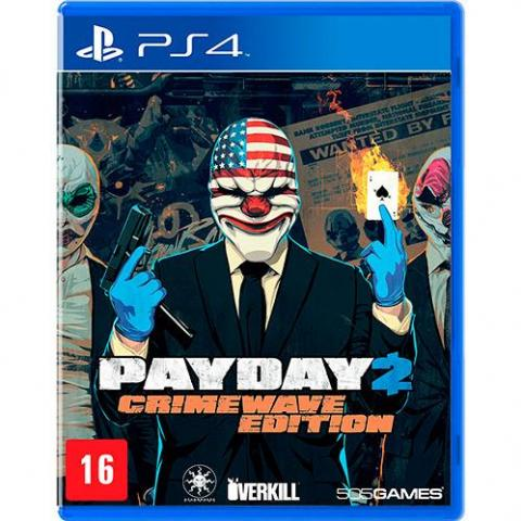 Pay Day 2 Crimewave Edition (PS4)