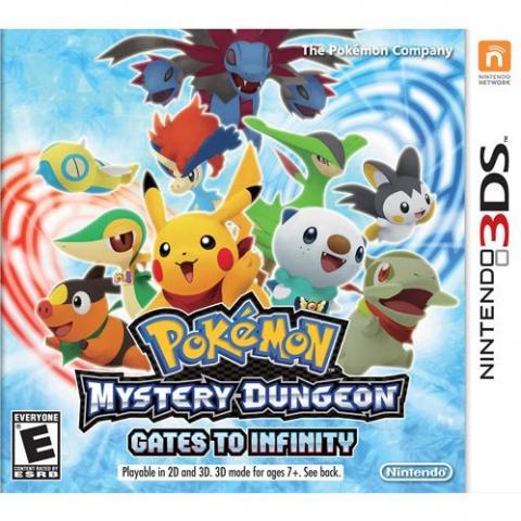 Pokémon Mystery Dungeon Gates to Infinity