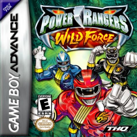 Power Rangers Wild Force (GBA)