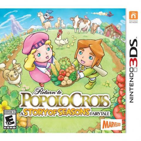 Return to Popolocrois - A Story of Seasons Fairytale