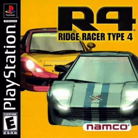Ridge Racer Type 4 (PS1)