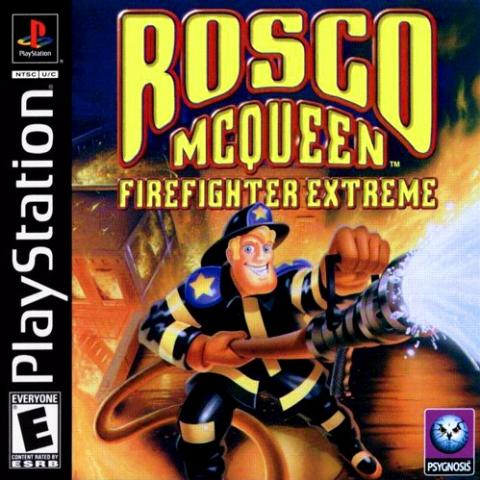 Rosco Mcqueen: Firefighter Extreme (PS1)