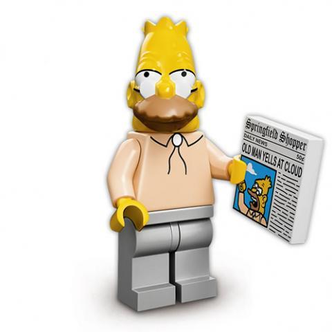 Simpsons Série 1 - Grampa Simpson