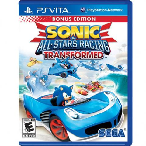 Sonic All-Stars Racing Transformed (PSVITA)