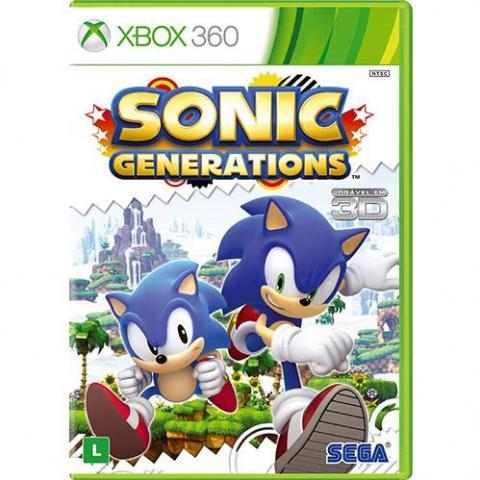 Sonic Generations (XBOX360)