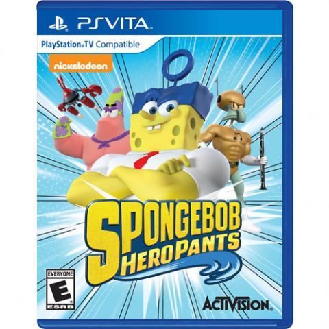 SpongeBob HeroPants (PSVITA)