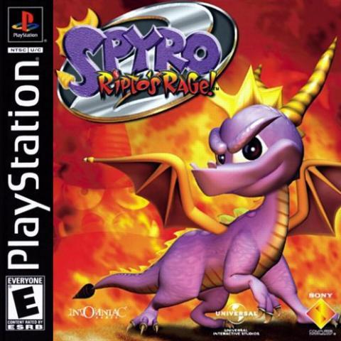 Spyro: Ripto's Rage (PS1)
