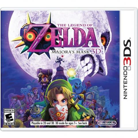 The Legend Of Zelda: Majora's Mask (3DS)