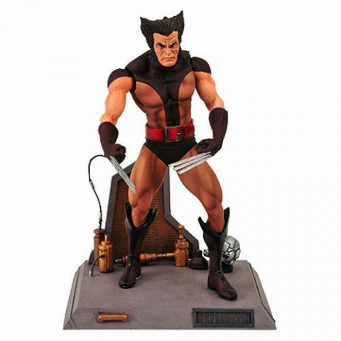 Unmasked Brown Costume Wolverine