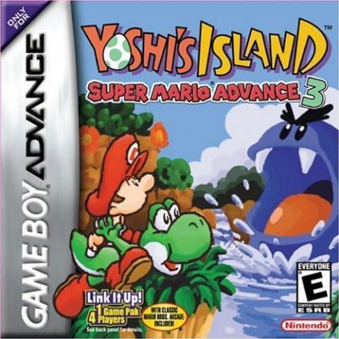 Yoshi's Island - Super Mario Advance 3 (GBA)